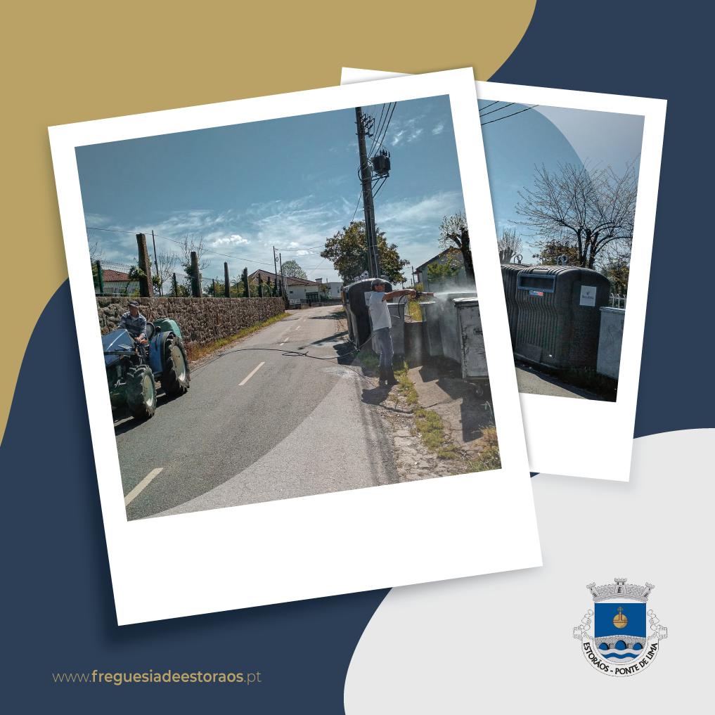 COVID-19 | Desinfecção das ruas