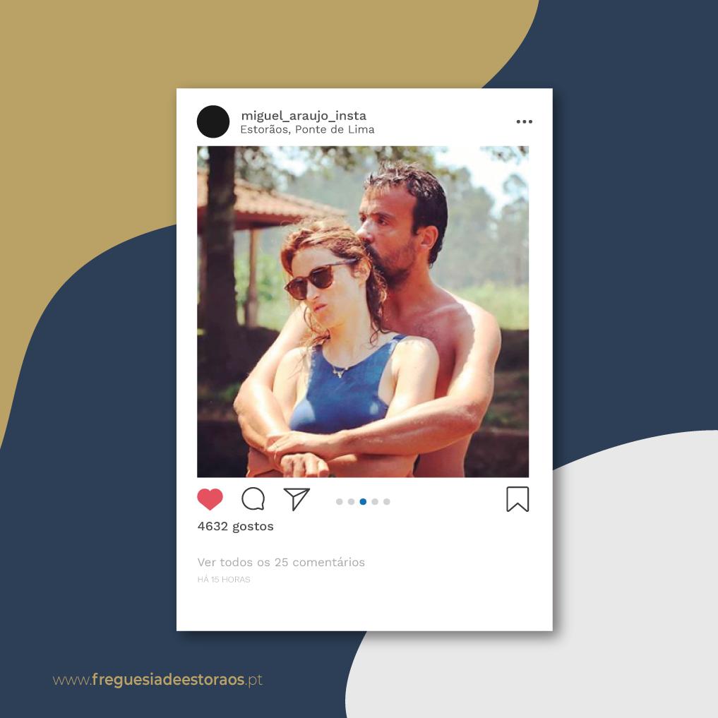 Instagram   Miguel Araújo - Estorãos