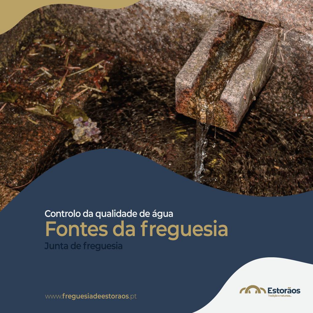 Fontes da Freguesia - Controlo da qualidade de água