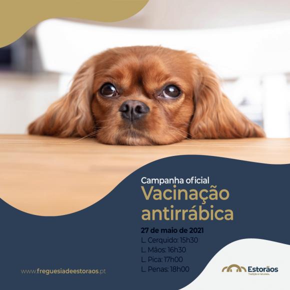 Campanha Oficial de Vacinação Antirrábica
